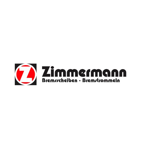 Zimmermann Front Disc Brake Rotor LR038934