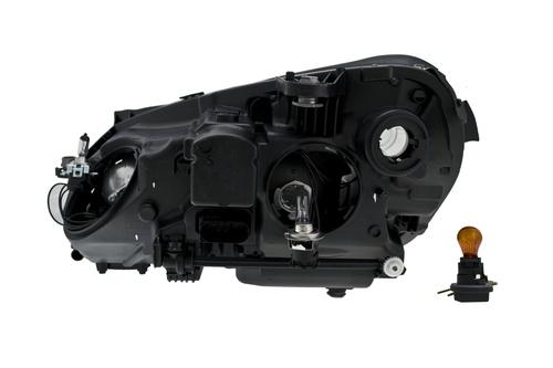 Hella Front Right Headlight Assembly 2128209661 010800081
