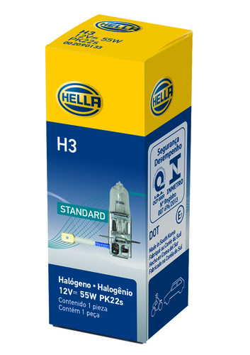 Hella Cornering Light Bulb LB-H3 H3