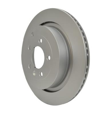 Hella Pagid Rear Disc Brake Rotor SDB000646 355118782