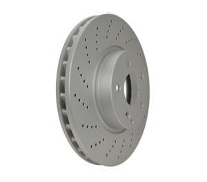 Hella Pagid Front Disc Brake Rotor 000421301207