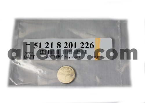 Battery Keyless Entry Remote Battery 51218201226 301157