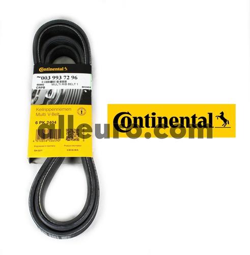 Continental ContiTech Serpentine Belt 0039937296 6K2404