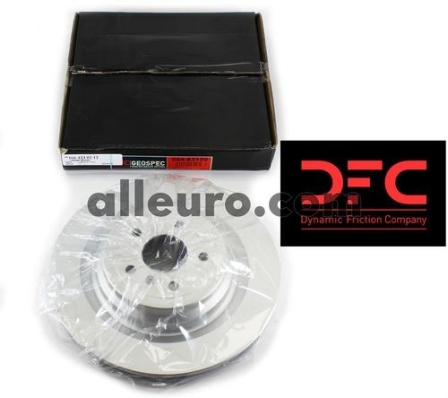 Dynamic Friction Rear Disc Brake Rotor 1664230212 604-63150
