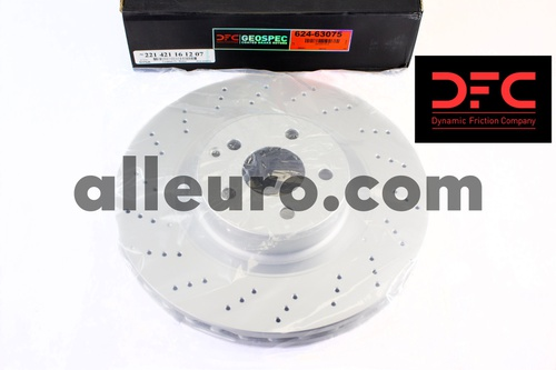 Dynamic Friction Front Disc Brake Rotor 221421161207 624-63075
