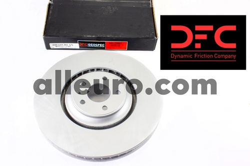 Dynamic Friction Front Disc Brake Rotor 4H0615301AN 604-73062