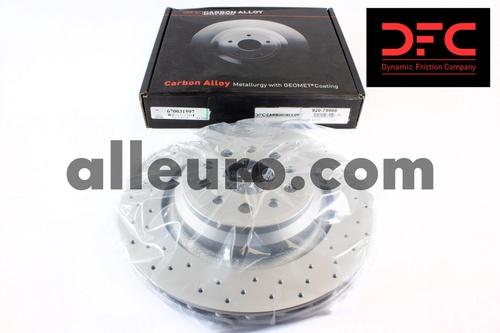 Dynamic Friction Rear Disc Brake Rotor 670031597 920-79008