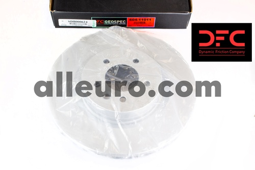 Dynamic Friction Front Disc Brake Rotor SDB000624 604-11011