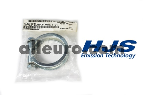HJS Emission Technology Exhaust / Muffler Clamp 1074920040 83 13 8807