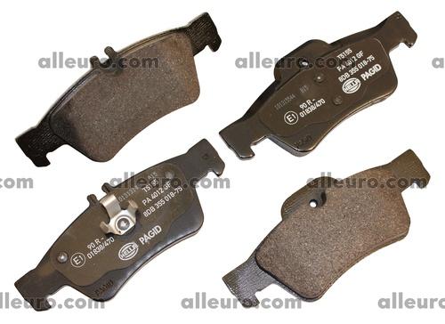 Hella Pagid Rear Disc Brake Pad Set 0064200120 355018751