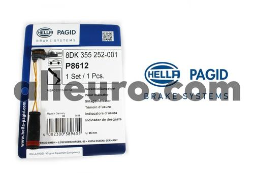 Hella Pagid Front Disc Brake Pad Wear Sensor 2115401717 355252001