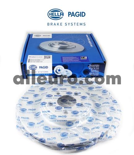 Hella Pagid Rear Disc Brake Rotor C2D26352 355115582
