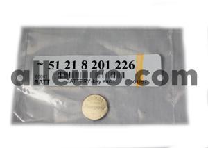 Battery Keyless Entry Remote Battery 51218201226 - Key Remote Battery cr2025