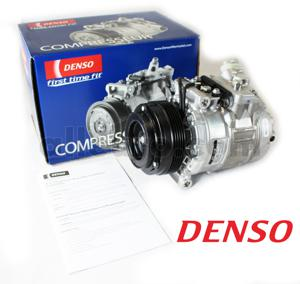 Denso A/C Compressor and Clutch 64526910458