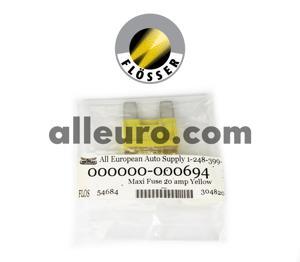 Flosser Fuse 000000-000694 - Maxi Fuse 20amp