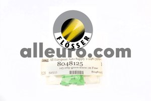 Flosser Fuse 8048125 - 125 amp Green Screw Fuse