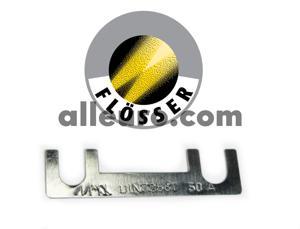 Flosser Fuse N-017-125-1 - 50Amp Strip Fuse SQUARE ENDS