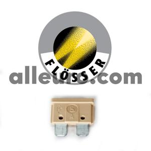 Flosser Fuse N-017-131-3 - ATO FUSE, 5 AMP