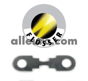 Flosser Fuse N10424903 - 50Amp Strip Fuse ROUNDED ENDS