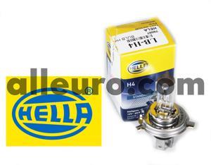 Hella High Beam and Low Beam Headlight Bulb LB-H4 - BULB H4 12V 60/5