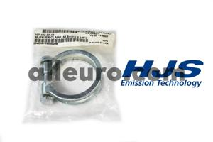 HJS Emission Technology Exhaust / Muffler Clamp 1074920040 - MUFFLER CLAMP-53mm