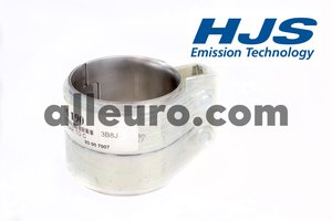 HJS Emission Technology Exhaust Clamp 18101745190 - EXHAUST SLEEVE CLAMP REAR TO Cent muff 540