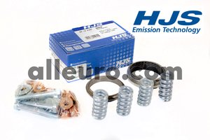 HJS Emission Technology Exhaust Kit 18219034032 - MOUNTING KIT-CATALYTIC CONVERTERe34 535/735 88-92 BMW