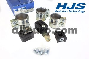 HJS Emission Technology Exhaust Kit 18219528972 - EXHAUST kit BMW 528i e39