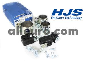 HJS Emission Technology Exhaust Kit 18219540972 - EXHAUST kit BMW 540 e39 97- REAR