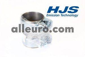HJS Emission Technology Exhaust / Muffler Clamp 1K0253141N - EXHAUST SLEEVE CLAMP 60mm