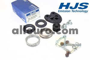 HJS Emission Technology Exhaust Kit 2014920598 - EXHAUST MOUNTING KIT -2.6/3.0 190e 6cyl MERCEDES