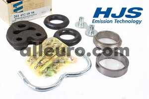 HJS Emission Technology Exhaust Kit 2014920898 - EXHAUST MOUNTING KIT -190 2.6+  w201ch MERCEDES