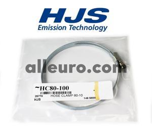 HJS Emission Technology Hose Clamp HC80-100 - LARGE HOSE CLAMP 80-100MM