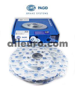 Hella Pagid Rear Disc Brake Rotor C2D26352