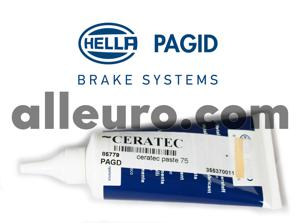 Hella Pagid Brake Anti-Squeal CERATEC - ceratec brake anti-squeal pad paste