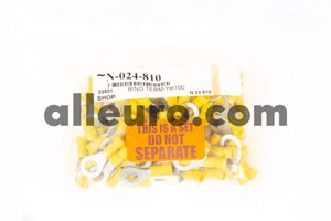 Shop Supply Electrical Connector N-024-810 - ELECTRICAL TERMINAL RING TERM,Yellow 100