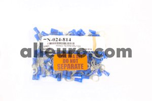 Shop Supply Electrical Connector N-024-814 - ELECTRICAL TERMINAL RING TERM,Blue 100