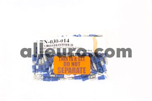 Shop Supply Electrical Connector N-030-014 - ELECTRICAL TERMINAL ROUND QUICK DISC blue