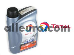 Total Oil 1 Liter 209315 - Quartz 0w-20 oil