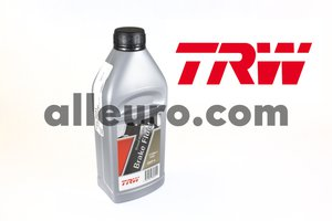 TRW Brake Fluid PFB601 - 1 Liter Racing DOT 4 Brake Fluid
