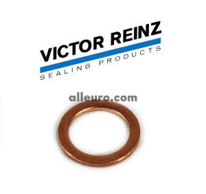 Victor Reinz Engine Block Drain Plug Seal 007603-012110 - COPPER Washer 12mm X 17mm